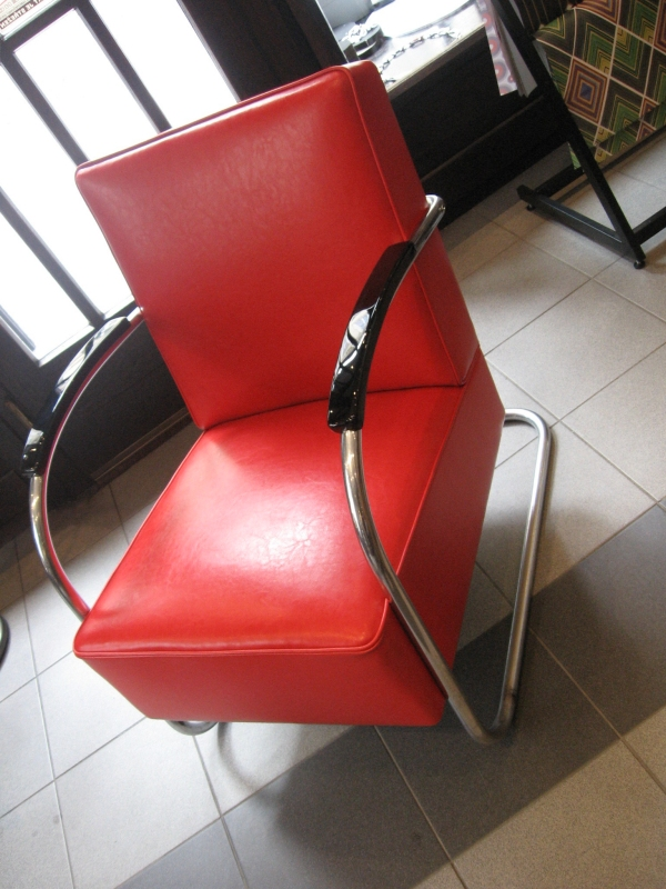 Gallery Kubista Cubism Catalogue Tubular Armchair Thonet D
